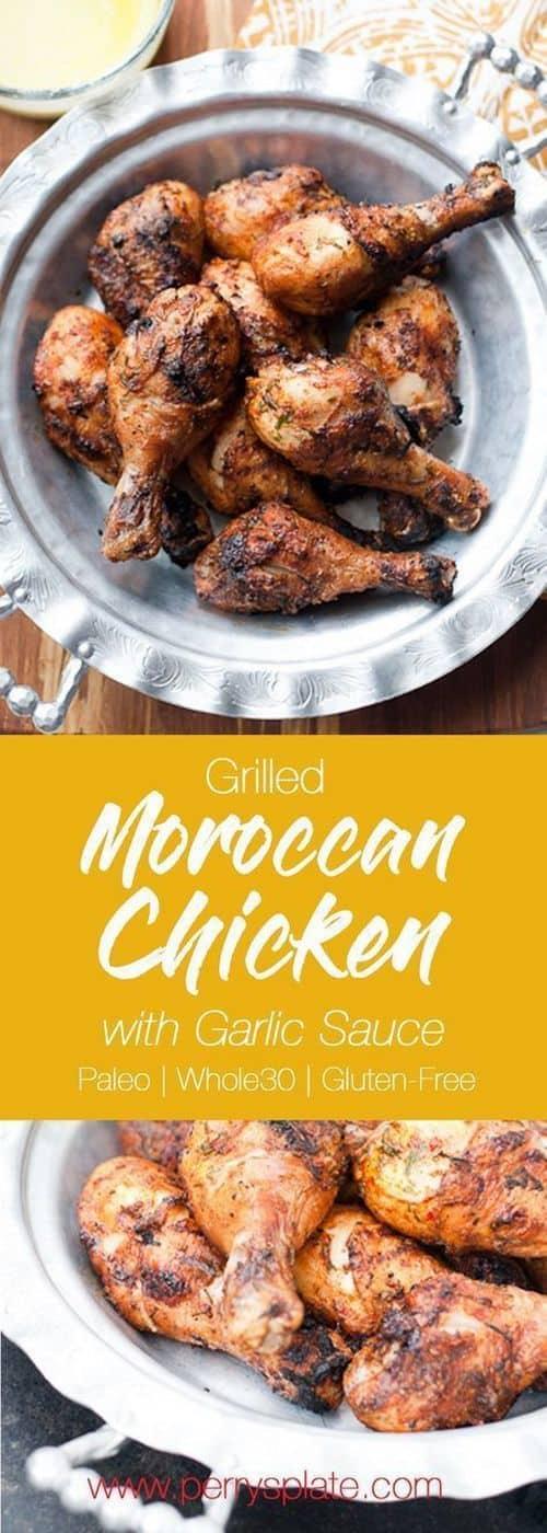 grilled-moroccan-chicken-garlic-sauce