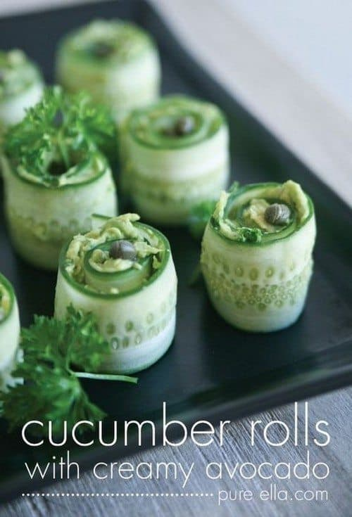 delicious-healthy-hors-doeuvres-cucumber-rolls-with-creamy-avocado