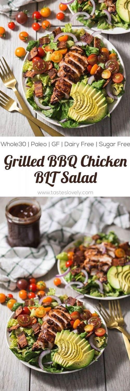 grilled-bbq-chicken-blt-salad-whole30-paleo