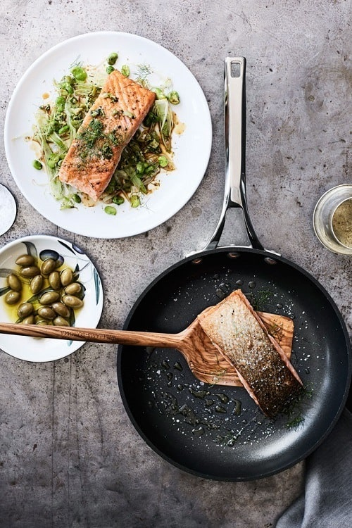 Sous-Vide-Salmon-with-Fennel-and-Green-Olives