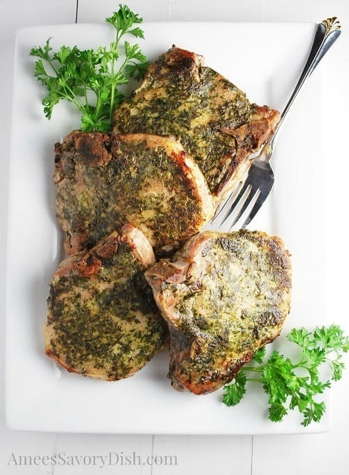 sous-vide-herb-rubbed-pork-chops