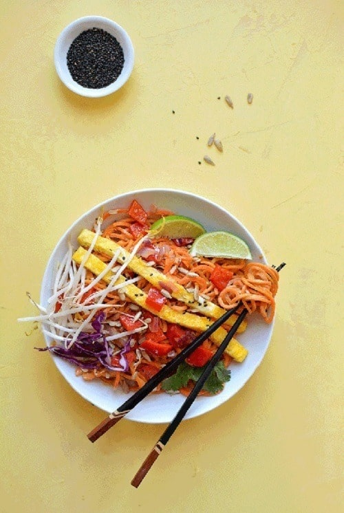spiralized-carrot-and-sweet-potato-noodles-paleo-pad-thai