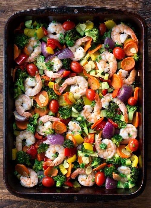 whole30-one-pan-garlic-shrimp