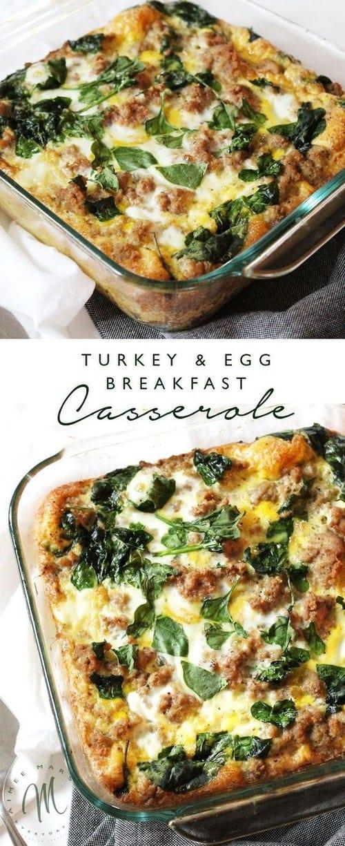 Whole30 Turkey & Egg Breakfast Casserole