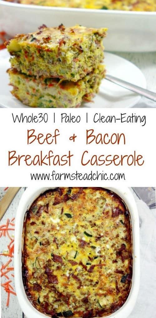 Paleo and Whole30 Breakfast Casserole