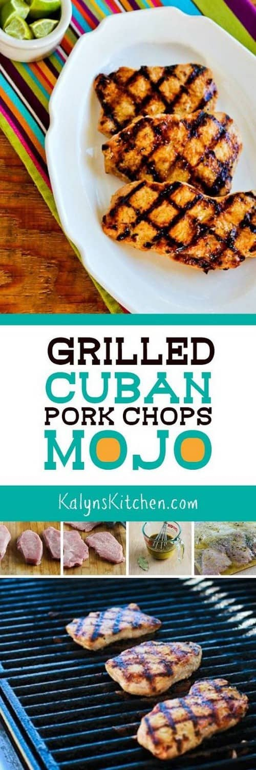 Whole30 Grilled Cuban Pork Chops Mojo