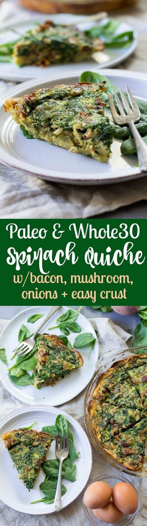paleo-whole30-spinach-quiche