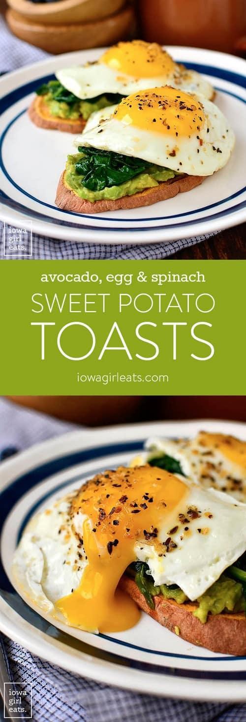 avocado-egg-spinach-sweet-potato-toasts
