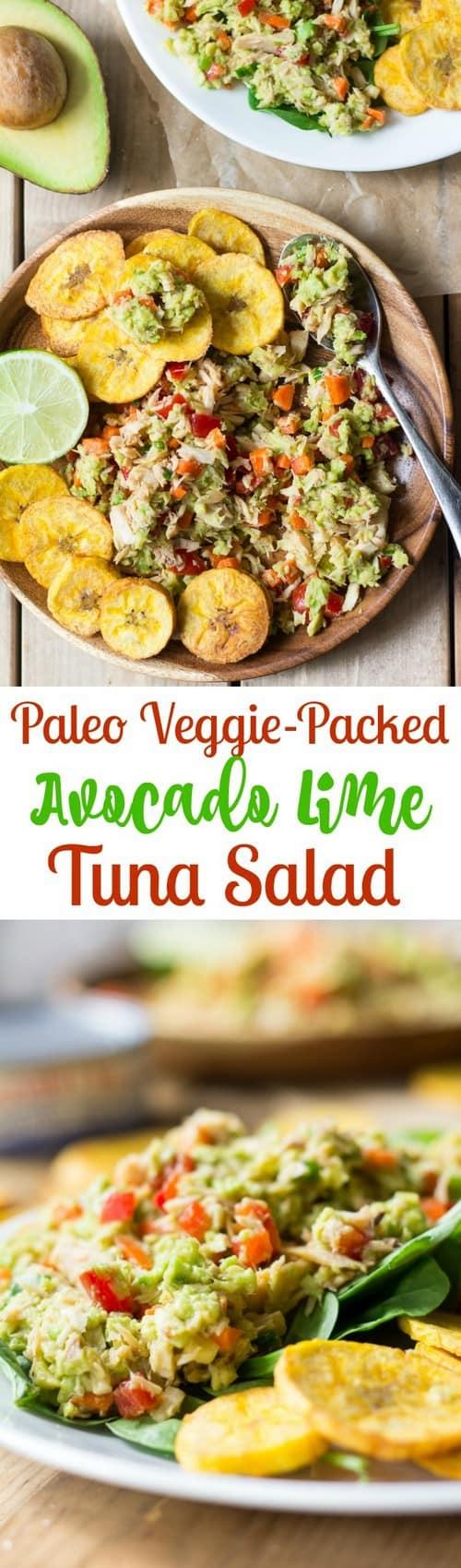 paleo-avocado-lime-tuna-salad