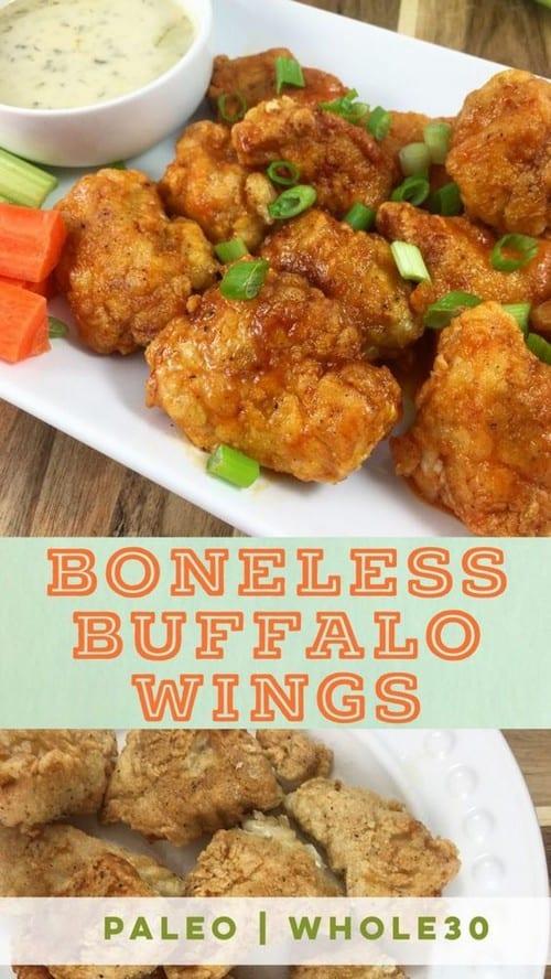 Whole30 Boneless Buffalo Wings