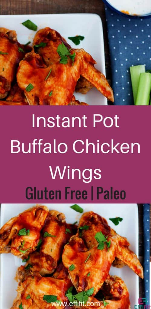 Whole30 Paleo Instant Pot Buffalo Chicken Wings