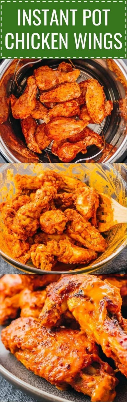 Whole30 Instant Pot Chicken Wings