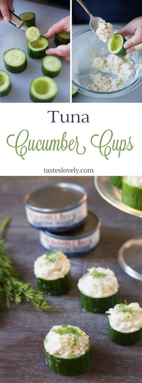 tuna-in-cucumber-cups