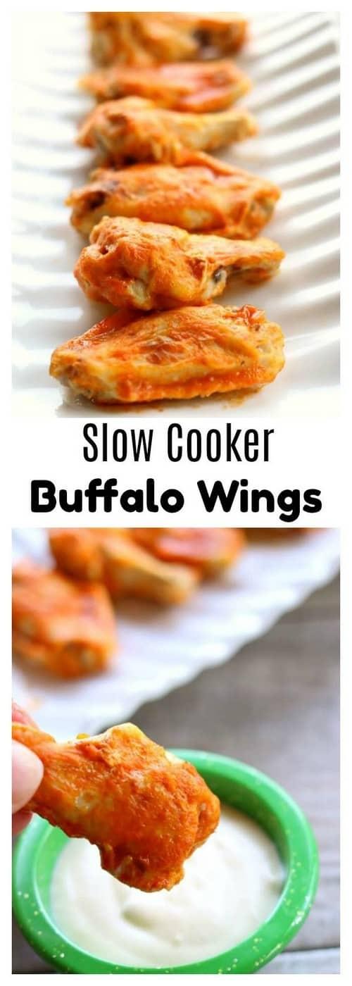 Whole30 Slow Cooker Buffalo Wings
