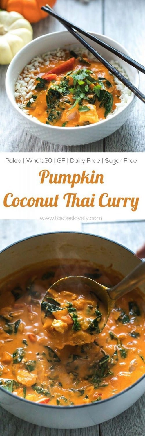 paleo-whole30-pumpkin-coconut-thai-curry
