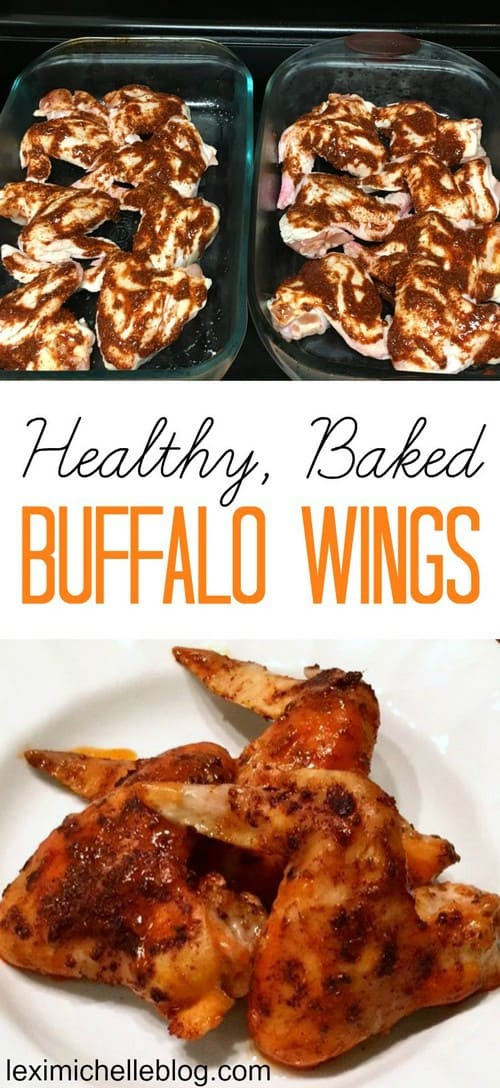 Whole30 Healthy Baked Buffalo Chicken Wings