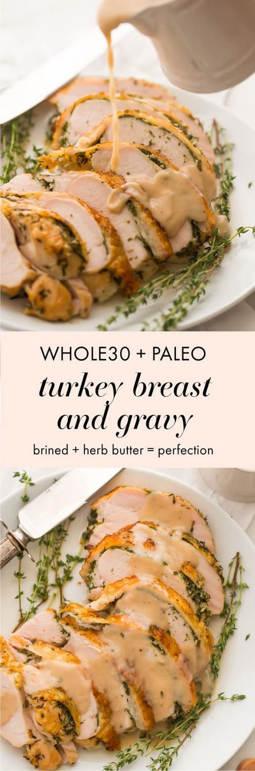 Whole30 Perfect Whole30 Turkey Breast and Gravy