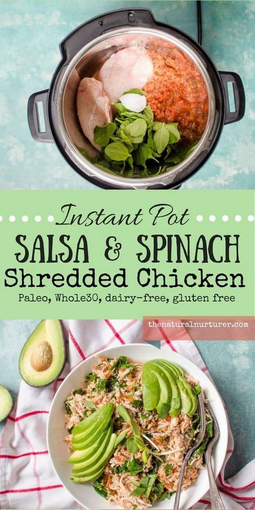 instant-pot-salsa-spinach-shredded-chicken-paleo-whole30