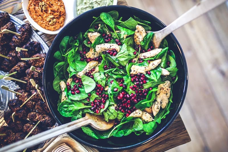 Whole30 spinach