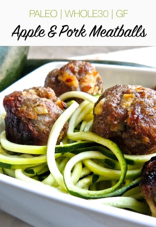 whole30-apple-pork-meatballs-baked