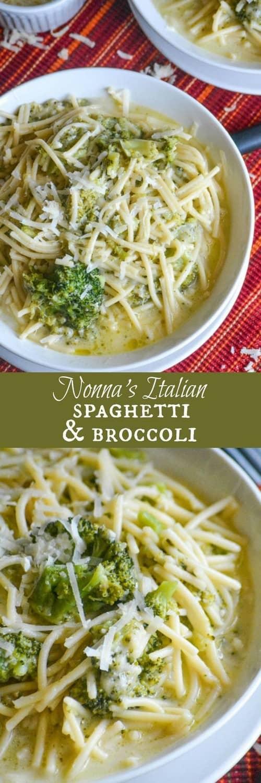 Mediterranean Nonna's Spaghetti and Broccoli