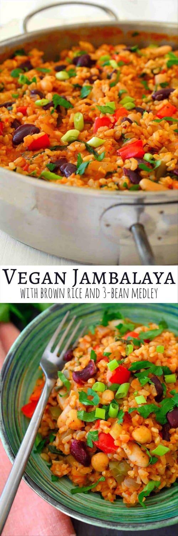 Mediterranean Vegan Jambalaya