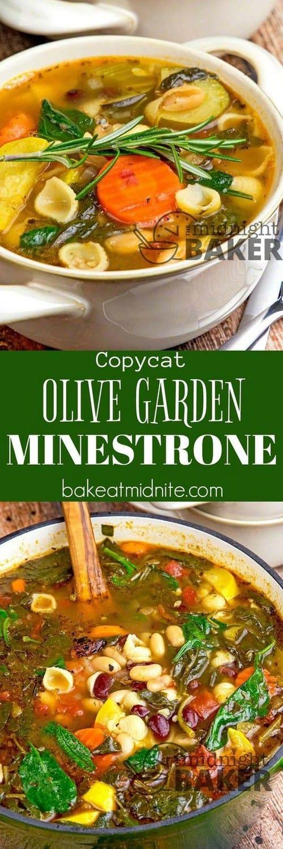 Mediterranean Copycat Olive Garden Minestrone