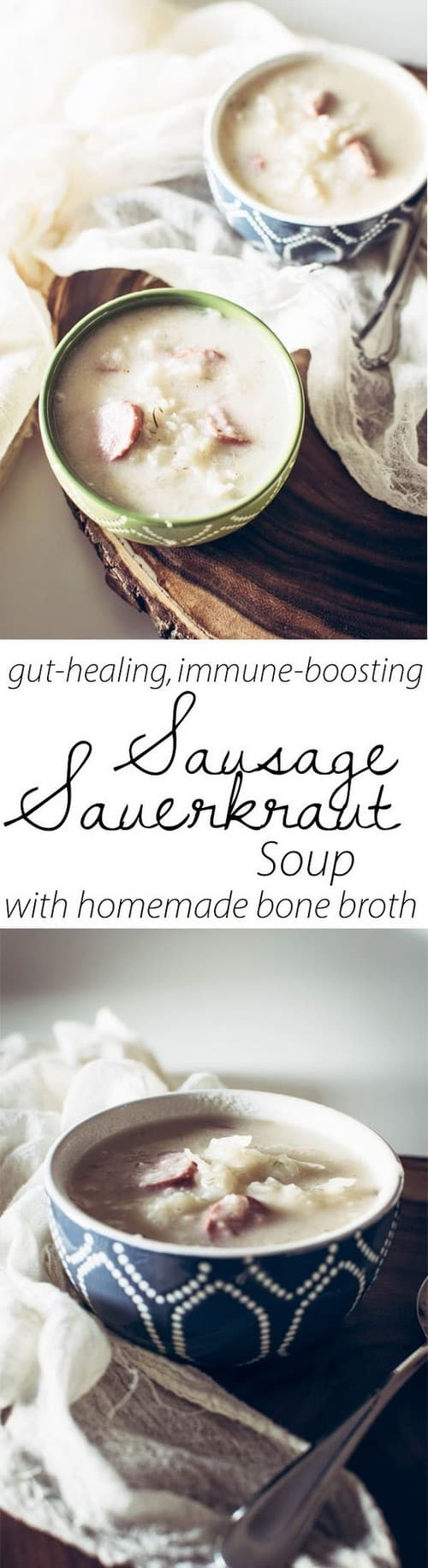 Whole30 Sausage Sauerkraut Soup