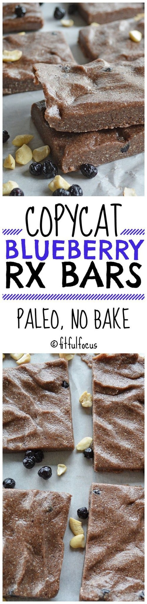 Whole30 Copycat Blueberry RX Bars