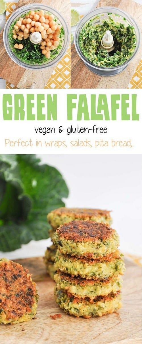 Mediterranean Vegan & Gluten-Free Green Falafel