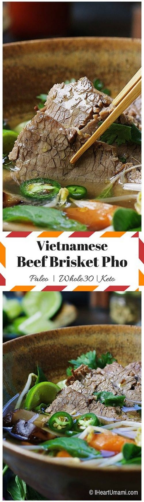 Whole30 Paleo Beef Brisket Pho