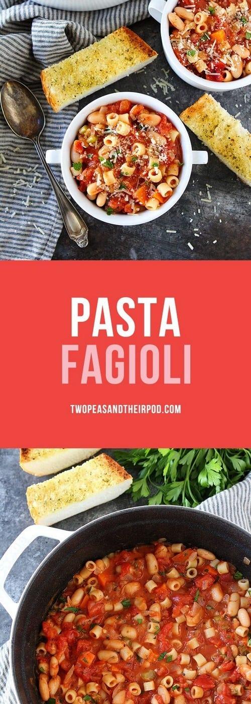 Mediterranean Pasta Fagioli