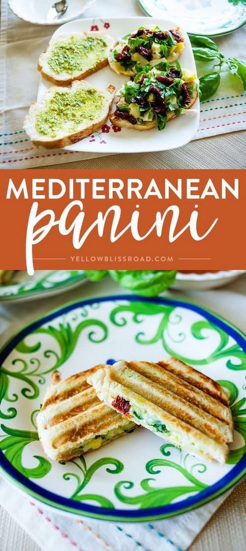 Mediterranean Panini