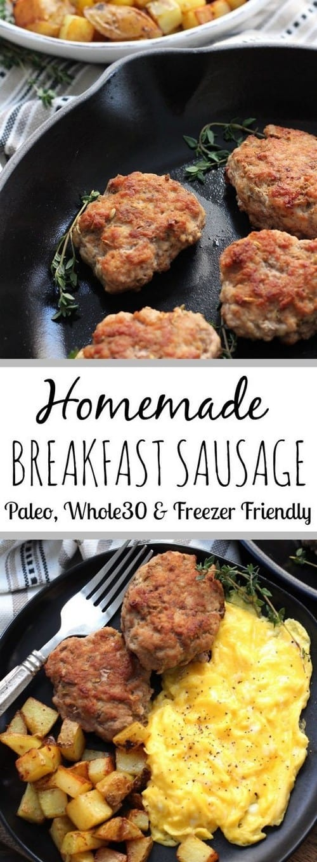 Whole30 Homemade Breakfast Sausage