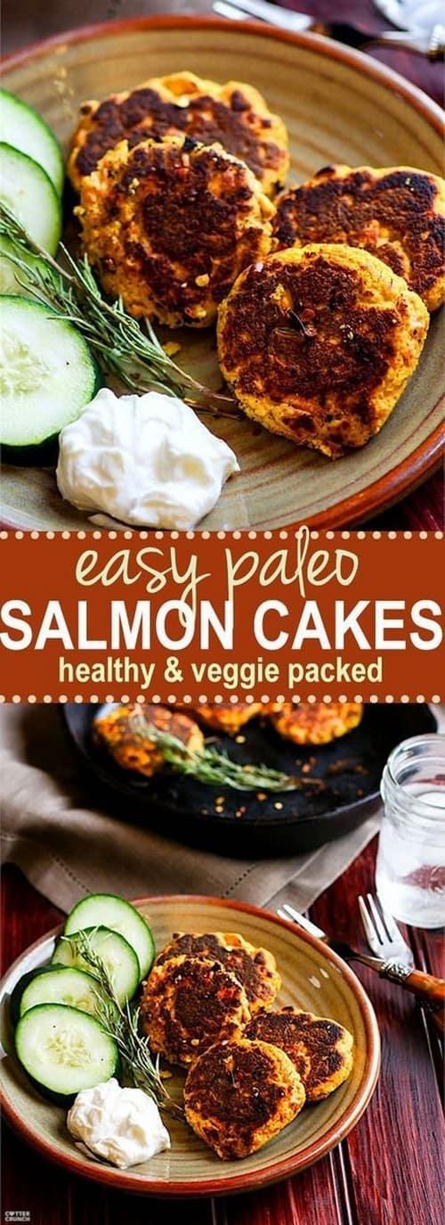 Whole30 Easy Paleo Salmon Cakes