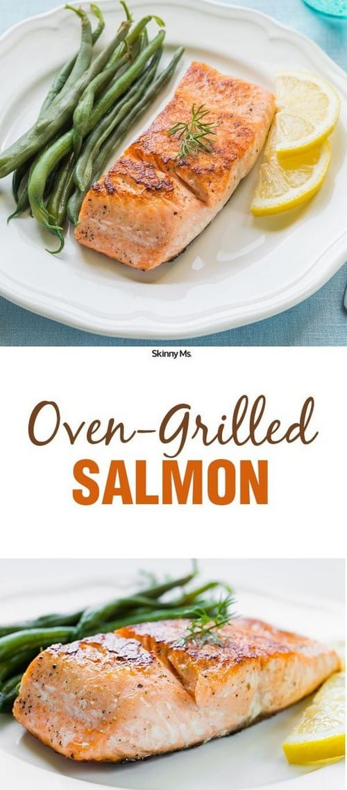 Mediterranean Oven-Grilled Salmon