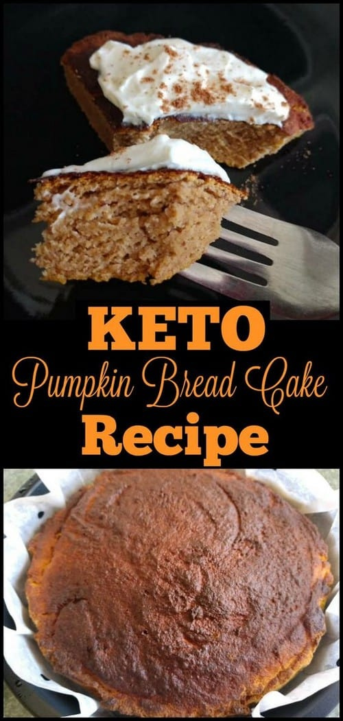 Keto Pumpkin Bread Cake