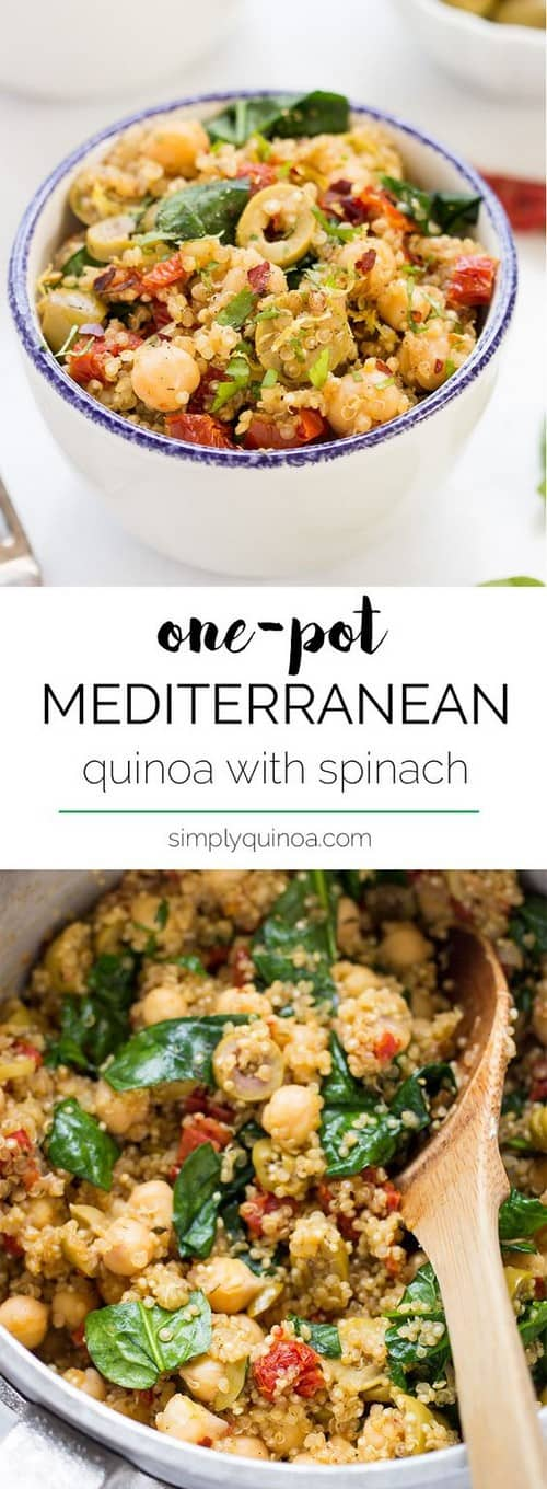 One-Pot Mediterranean Quinoa