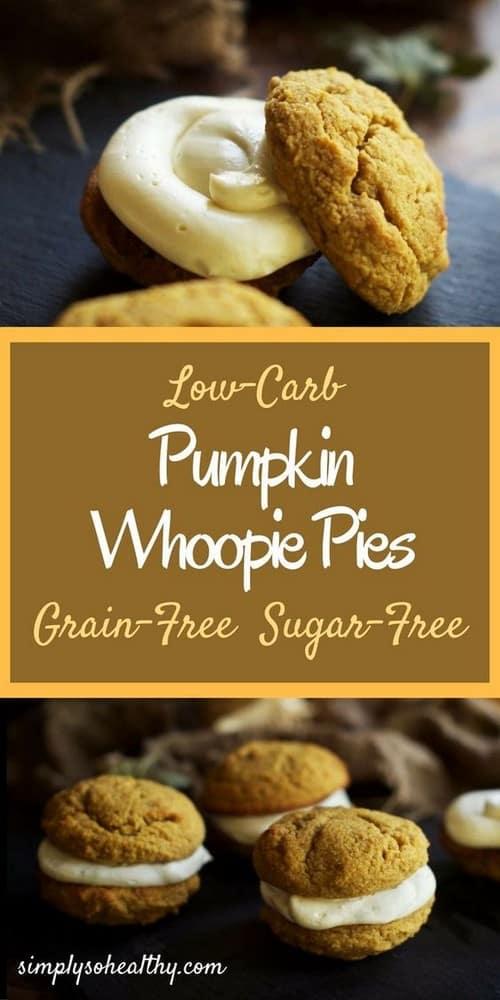Keto Pumpkin Whoopie Pies