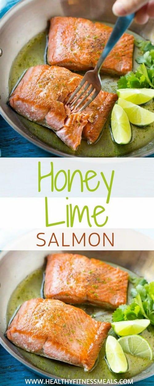 Mediterranean Honey Lime Salmon