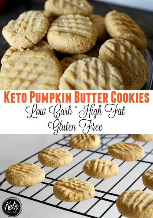 Keto Pumpkin Butter Cookies