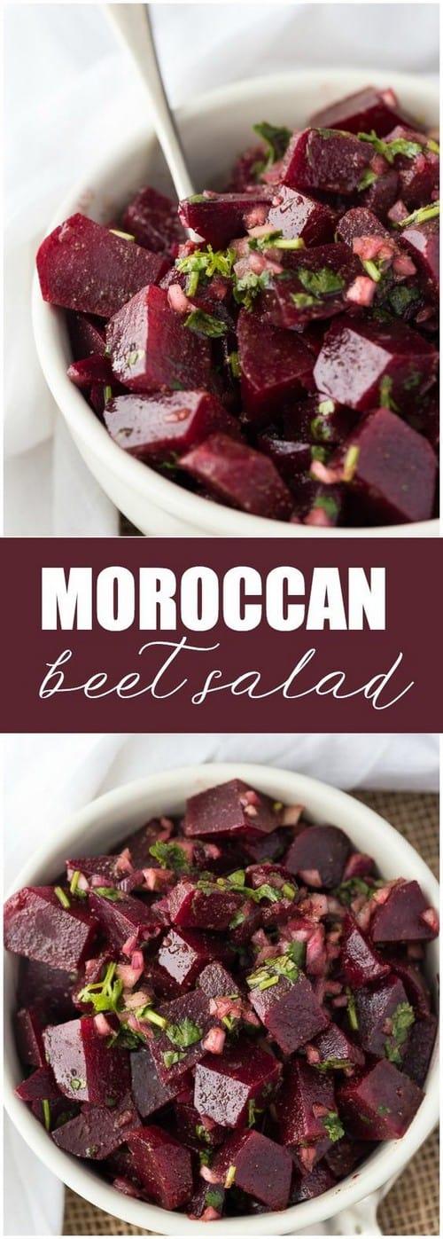 Mediterranean Moroccan Beet Salad