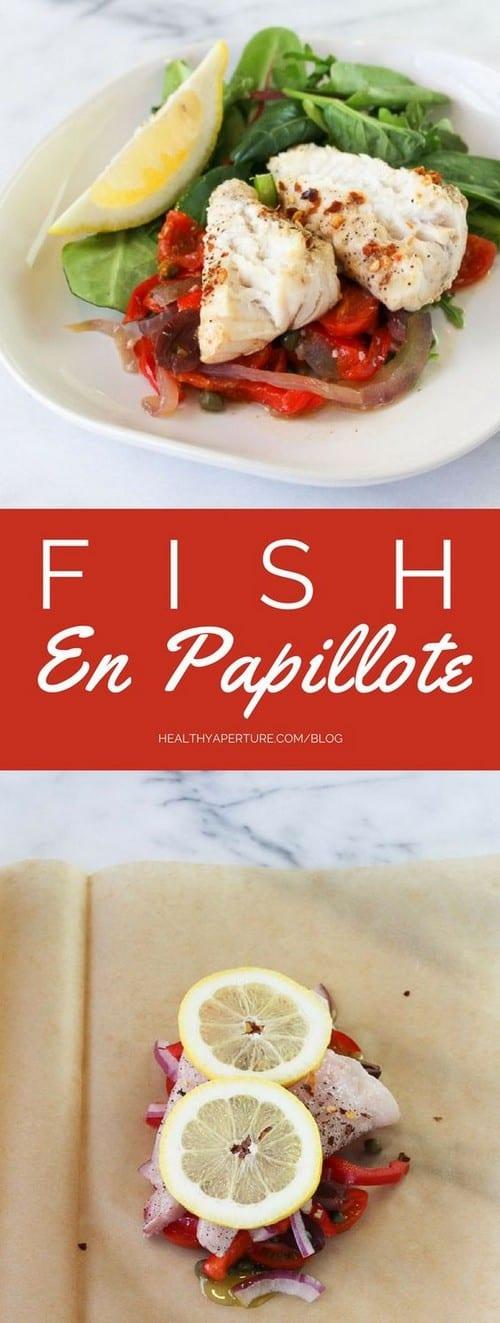 Mediterranean Fish En Papillote