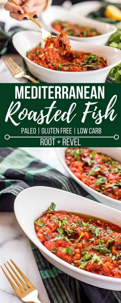 Mediterranean Roasted Mackerel