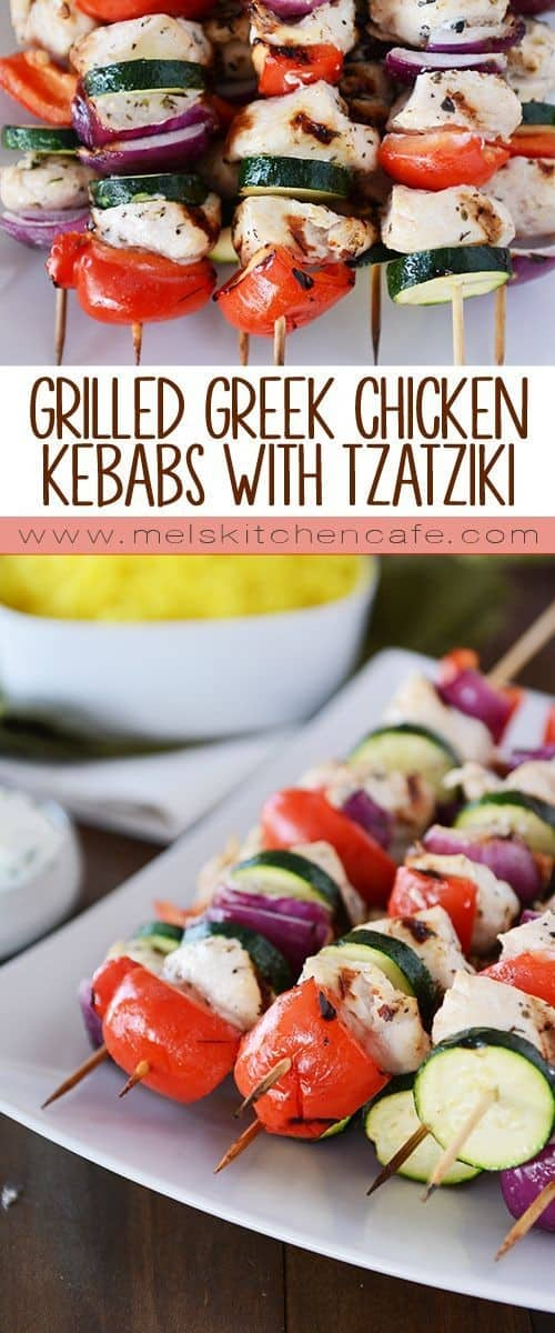 Mediterranean Grilled Greek Chicken Kebabs