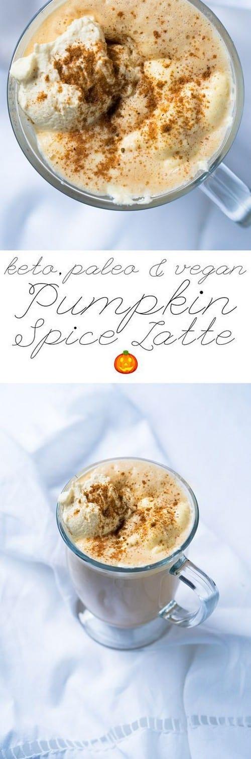 Keto Suuuper Creamy Pumpkin Spice Latte