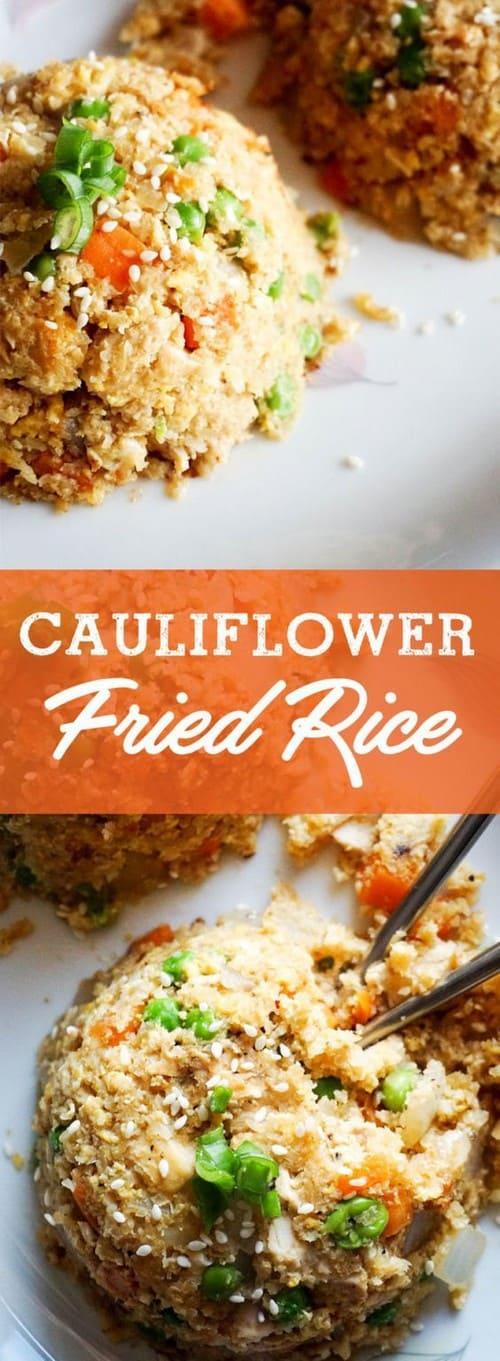Keto Cauliflower Fried Rice