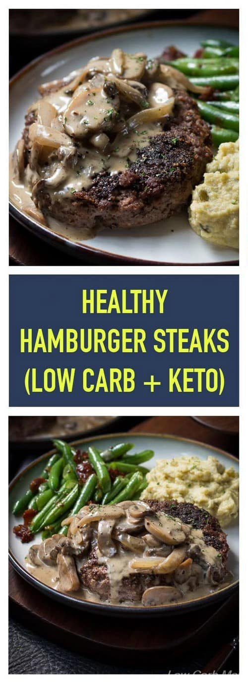 Keto Hamburger Steak and Gravy