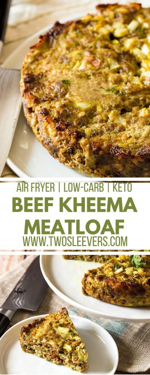 Keto Beef Kheema Meatloaf