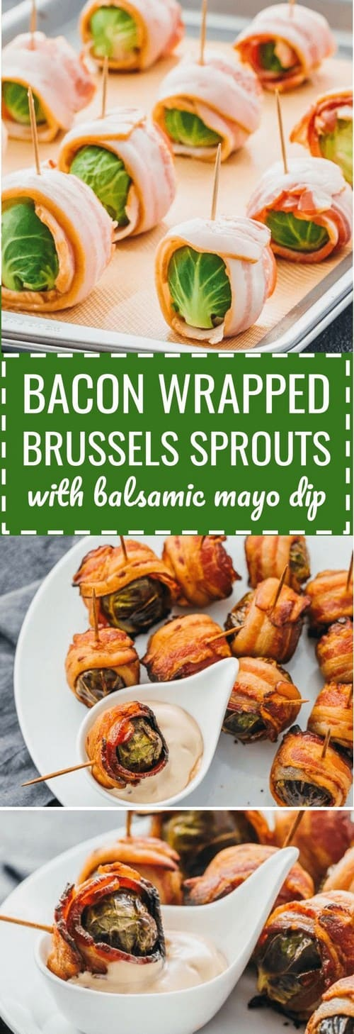 Keto Bacon-Wrapped Brussels Sprouts